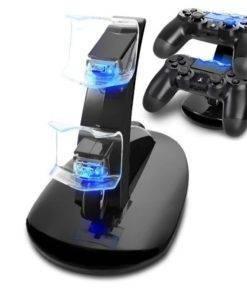 IPLAY Çift USB PS4 Şarj Standı Tüm Ürünler Oyun Ekipmanları PS4