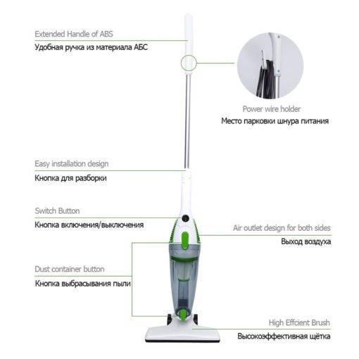 TINTON LIFE Ultra Sessiz Elektrikli Süpürge Tüm Ürünler Temizlik Aletleri