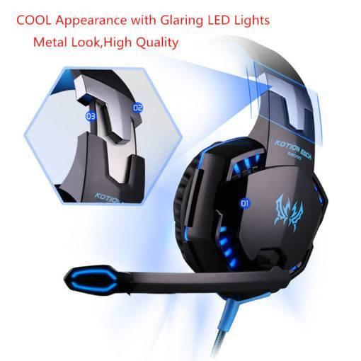 KOTION EACH G-Serisi Oyun Kulaklıkları PC PS4 X-BOX Tüm Ürünler Kulaklıklar Oyun Ekipmanları PS4