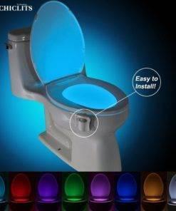 CHICLITS Tuvalet Gece Lambası LED Lamba Akıllı Banyo Tüm Ürünler Ev Aletleri