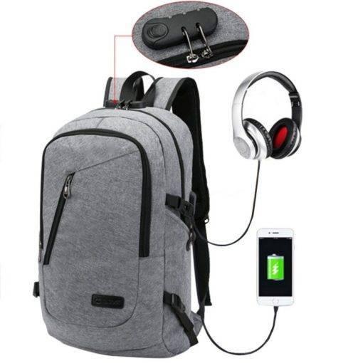ADISPUTENT USB Sırt Çantası Okul Çantası Seyahat Tüm Ürünler Akıllı Elektronik Aletler