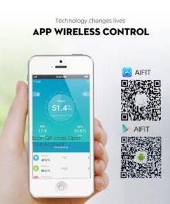 SDARISB Bluetooth Terazi Akıllı Banyo Tartısı Tüm Ürünler Ev Aletleri Sağlıklı Yaşam Pratik Yaşam