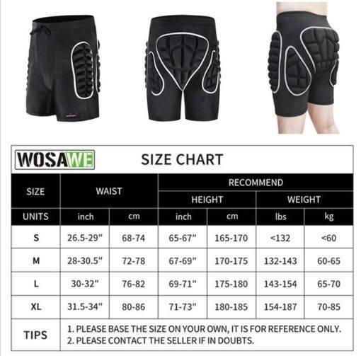 WOSAWE Snowboard Koruyucu Giysi Vücut Destek Giyimi Tüm Ürünler Spor & Outdoor Outdoor Aksesuar