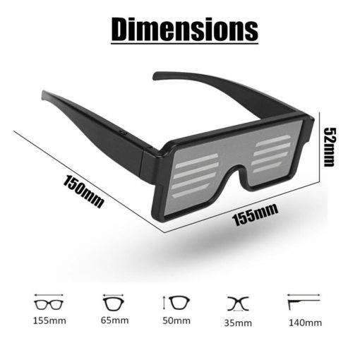 LISM LED Işıklı Parti Gözlüğü – Eğlence Zamanı Tüm Ürünler Spor & Outdoor Outdoor Aksesuar
