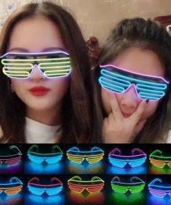 LISM LED Neon Işıklı Parlayan Gözlük – Parti Başlasın Tüm Ürünler Outdoor Aksesuar Çocuklar İçin