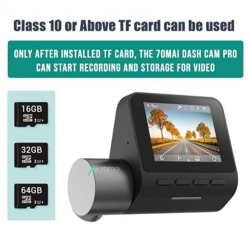 Orijinal 70mai Dash kamera Pro 1944P Hız ve Koordinat GPS ADAS 70mai pro araç içi kamera WiFi DVR Ses Kontrolü 24H Parkı 70 MAI Tüketici Elektroniği Kamera & Fotoğraf
