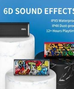 Mifa bluetooth hoparlör taşınabilir kablosuz hoparlör ses sistemi 10W stereo müzik surround su geçirmez açık hoparlör Tüketici Elektroniği Cep Telefonları Cep Telefonları Aksesuarları