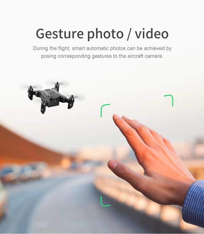 Mini Drone ile/olmadan HD kamera yüksek tutma modu RC dört pervaneli helikopter RTF WiFi FPVQuadcopter beni RC helikopter Quadrocopter çocuk