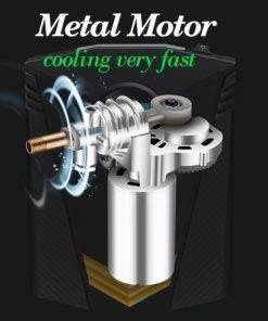 Taşınabilir araba hava kompresörü DC 12V dijital lastik şişirme hava pompası 150 PSI otomatik hava pompası araba motosiklet için LED ışık lastik pompası Tüketici Elektroniği