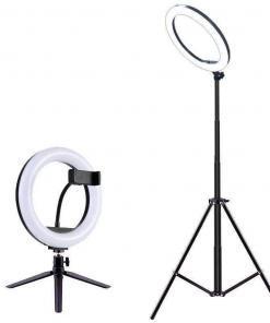 Işıkları Kısılabilir Selfie Işığı LED Halka Işık Tüketici Elektroniği Akıllı Elektronik Aletler