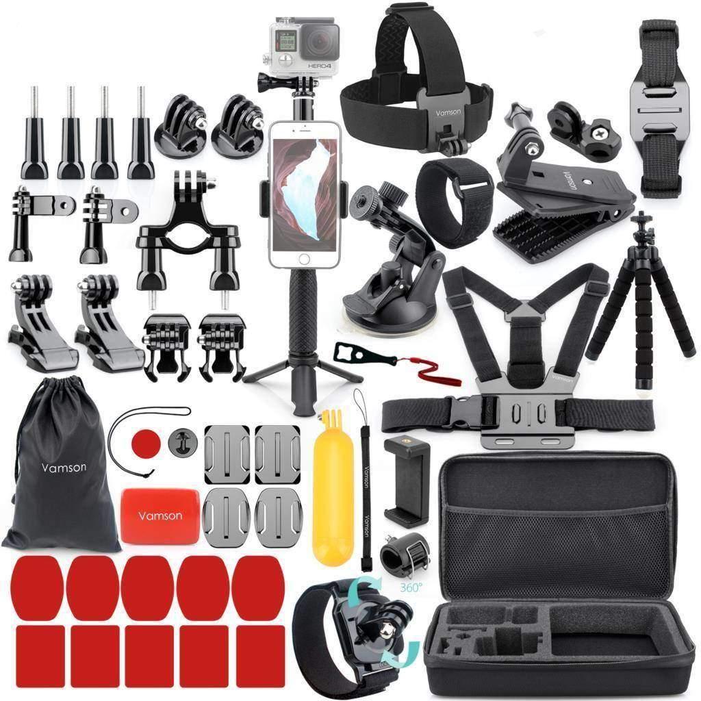 VAMSON Aksiyon Kamera Aksesuarları Tüm Ürünler GoPro Özel Tüketici Elektroniği Kamera & Fotoğraf Aksiyon Kamera Aksesuarları