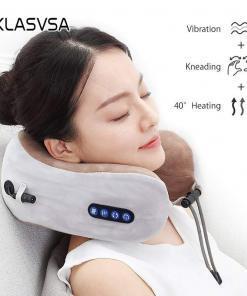 Elektrikli boyun masajı U şekilli yastık çok fonksiyonlu taşınabilir omuz servikal masaj açık ev araba rahatlatıcı masaj Tüm Ürünler Sağlıklı Yaşam
