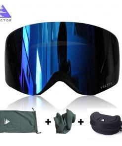 OTG kayak gözlüğü Snowboard maskesi erkekler kadınlar için kayak gözlük UV400 kar koruma gözlük yetişkin çift anti-sis silindirik Tüm Ürünler Spor & Outdoor Outdoor Aksesuar
