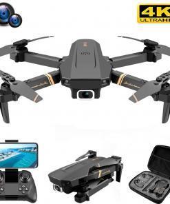 V4 Rc Drone 4k HD geniş açı kamera 1080P WiFi fpv Drone çift kamera Quadcopter gerçek zamanlı şanzıman helikopter oyuncaklar Drone Tüketici Elektroniği